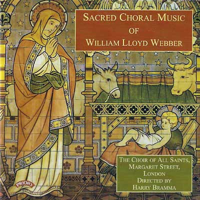 Sacred Choral Music of William Lloyd Webber